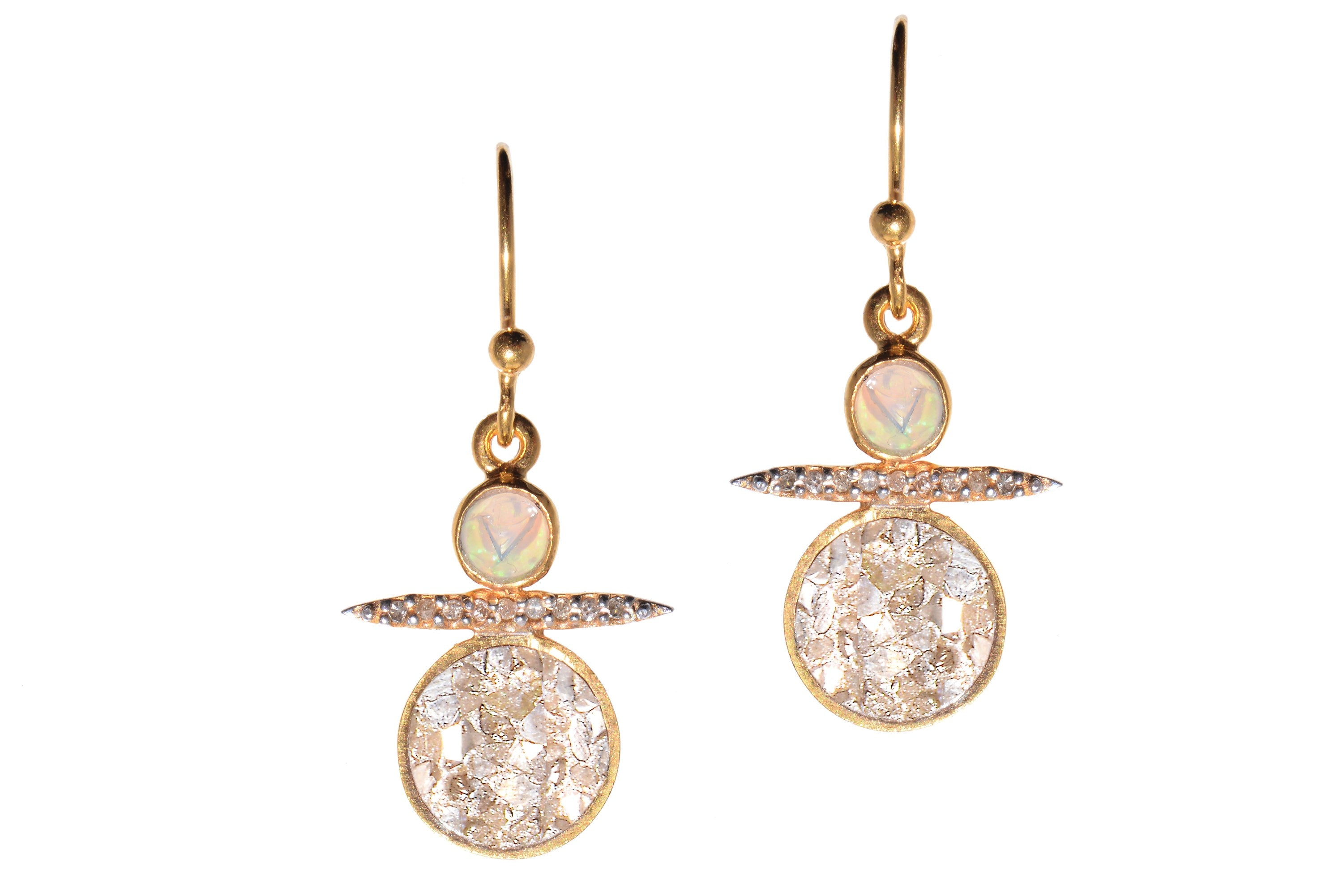 Cassini Earrings YG