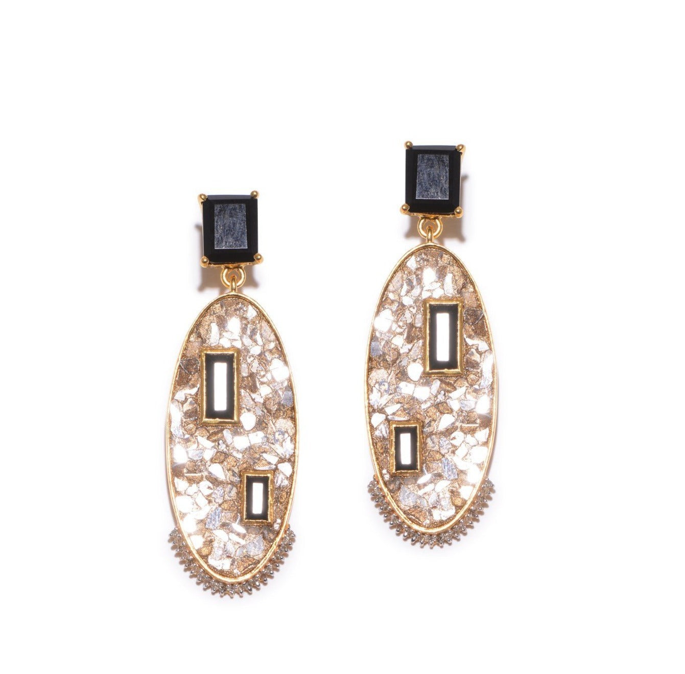 Chrysi Earrings YG BO