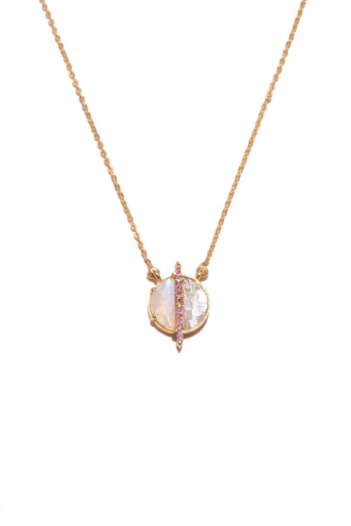 Elson Pendant Pink Sapphire