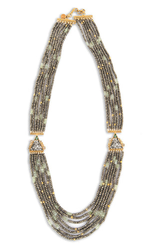 Kamla Necklace Pyrite