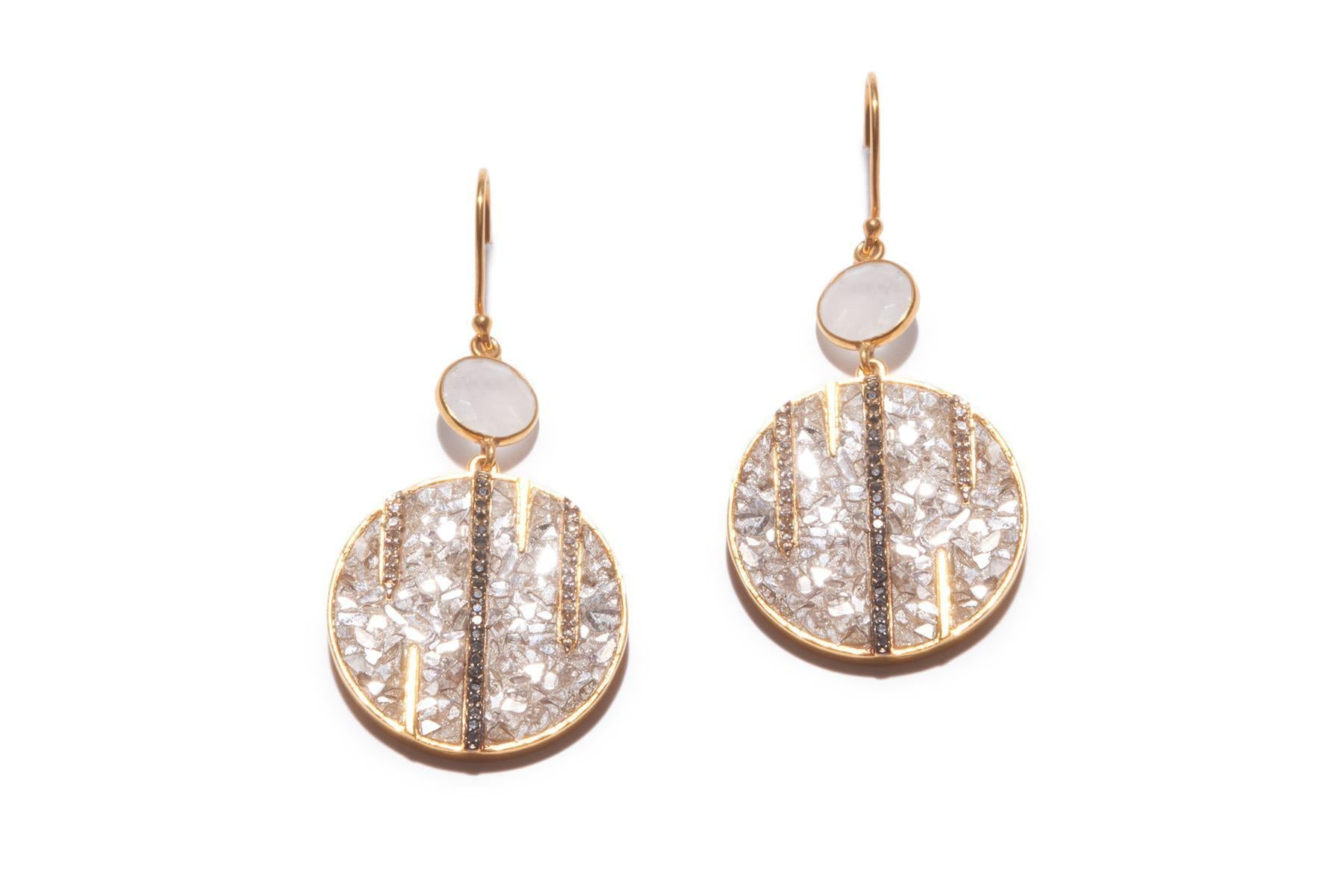 RIFFA EARRINGS YG