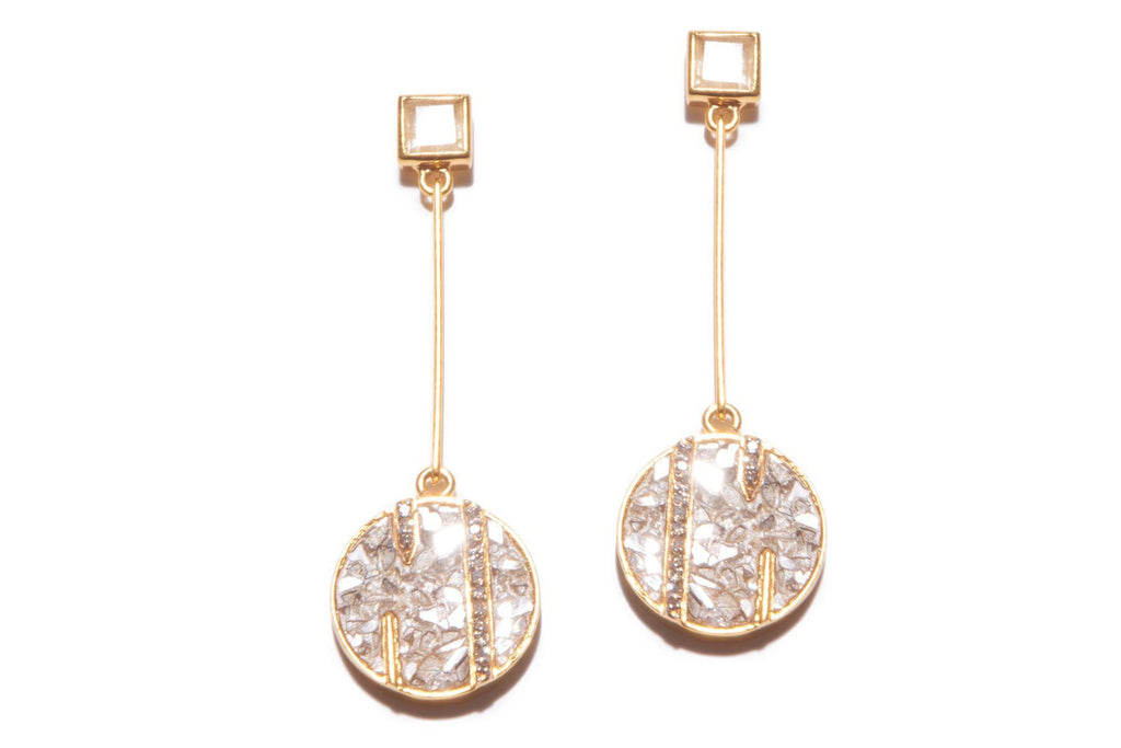 RUMELI EARRINGS YG