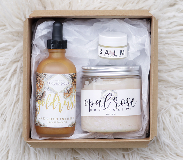 Natural & Vegan Spa Kit Gift Set