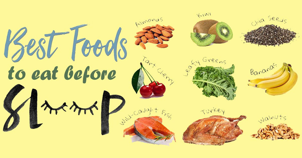 The Best Foods to Eat Before Sleep