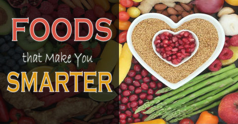 Foods that Make You More Smarter