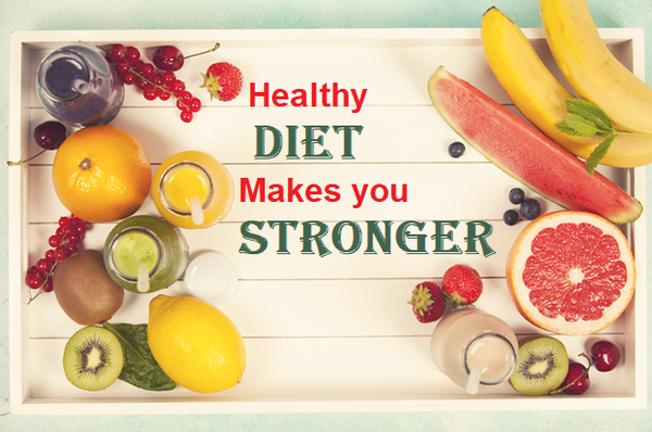 add fruits and vegetables in your diet and stay healthy