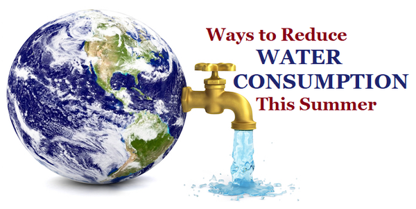 Ways to Reduce Water Consumption This Summer