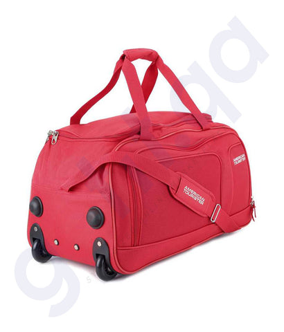 Buy American Tourister Vision Travel Duffel Bag Red Online Doha Qatar