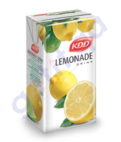Buy Best KDD Lemonade 250ml Price Online in Doha Qatar