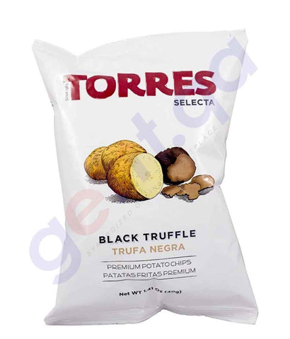 BUY TORRES - BLACK TRUFFLE POTATO CHIPS 40G ONLINE IN QATAR