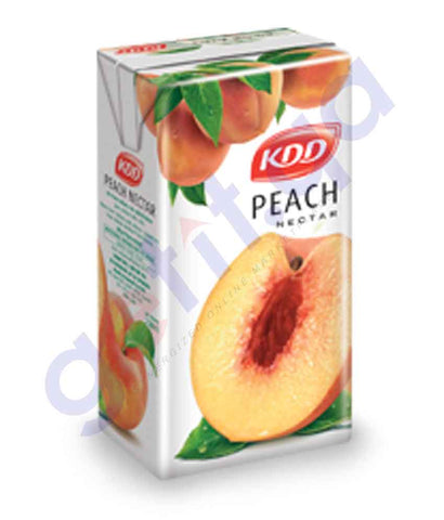 Buy Best KDD Peach Nectar 250ml Online in Doha Qatar