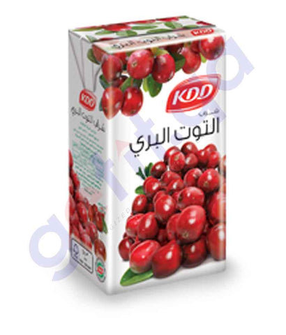 Buy KDD Cranberry Drink 250ml Price Online in Doha Qatar
