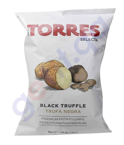 BUY TORRES - BLACK TRUFFLE CHIPS 125G ONLINE IN QATAR
