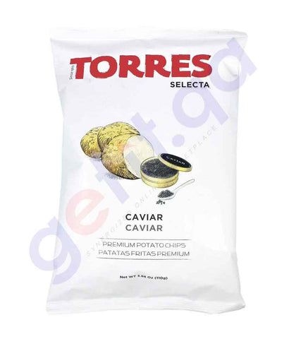 BUY TORRES - CAVIAR POTATO CHIPS 110G ONLINE IN QATAR