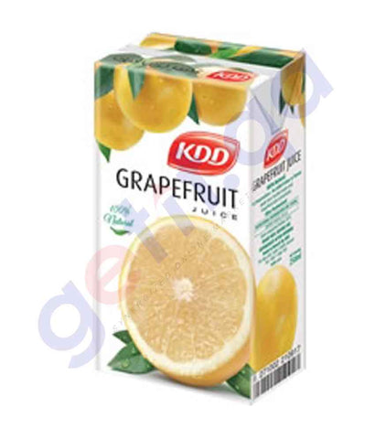 Buy KDD Grapefruit Juice 250ml Price Online in Doha Qatar