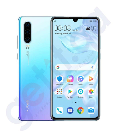Buy Huawei P30 6gb RAM 128gb ROM Breathing Crystal Price Online in Doha Qatar