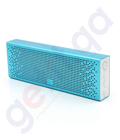 Buy Xiaomi Bluetooth Speaker Blue Price Online Doha Qatar