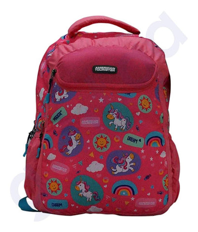 Buy American Tourister Woddle Plus Pink Backpack Doha Qatar