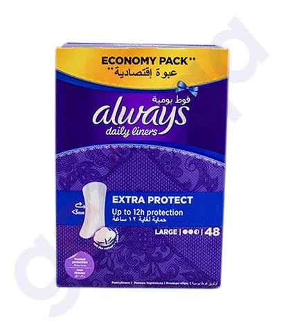 Buy Always Daily Liners Comfort Protect Large in Doha Qatar