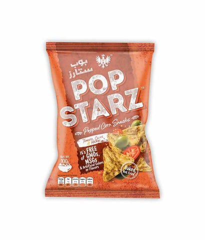 Request Quote Pop Starz Tomato, Olive & Herbs 100gm in Doha Qatar