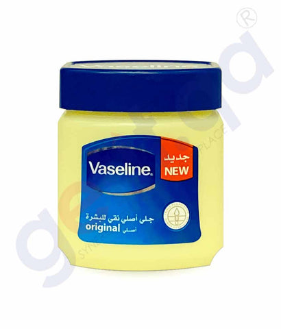 Buy Vaseline Original Pure Skin Jelly 480ml Online in Qatar