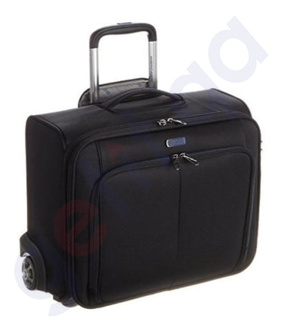Buy American Tourister Merit Rolling Tote Black Doha Qatar