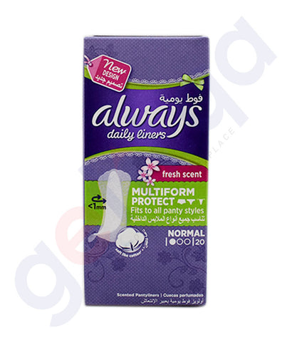 Buy Always Daily Liner Multiform Protect Normal Doha Qatar