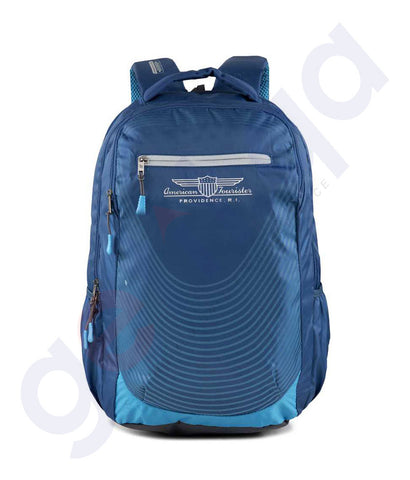 Buy American Tourister Songo Nxt Backpack Blue Doha Qatar
