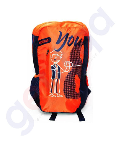 Buy American Tourister 03 Orange School Backback Doha Qatar