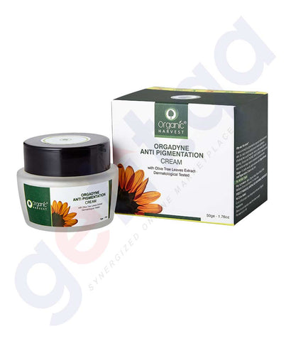 Buy Organic Harvest Anti-Pigmentation Cream 50gm Doha Qatar