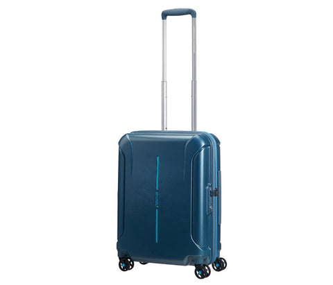 Buy American Tourister Technum Spinner 55cm Blue Doha Qatar