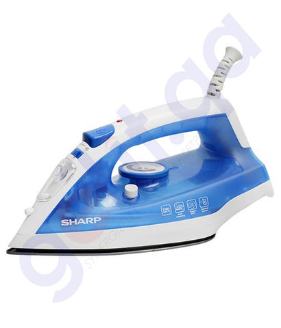 SHARP SMOOTH GLIDE STEAM IRON EI-SU11-B