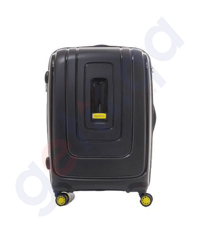 Buy American Tourister Lightrax 55cm Black in Doha Qatar