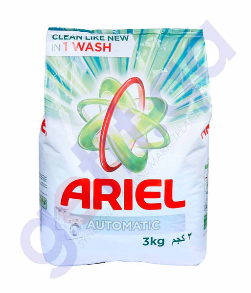 ARIEL GREEEN- 3kg (New Packing)