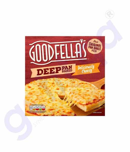 GETIT.QA | Buy Goodfellas Deliciously Cheese Pizza 421g Online in Doha Qatar