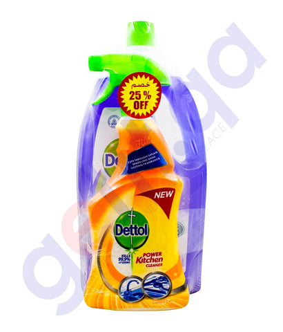 Buy Dettol MPC Lavender 1.8L+KC 500ML 40% Off in Doha Qatar