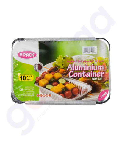 Buy V-Pack Aluminium Container A8389 Online in Doha Qatar