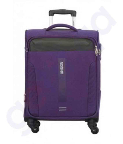 American Tourister Madison Spinner 68cm Purple Doha Qatar