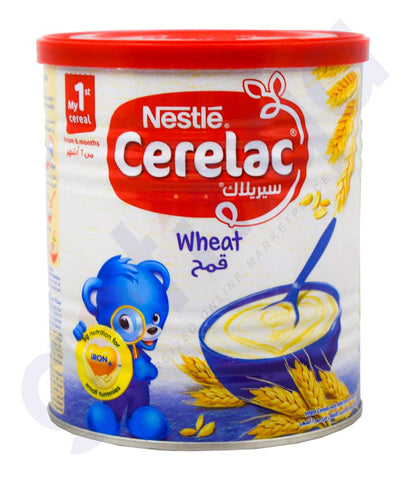 Buy Nestle Cerelac Wheat with Milk 6 Months in Doha Qatar
