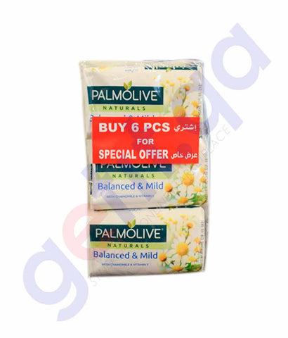 Buy Palmolive Natural Balanced & Mild 150g 6Pcs Doha Qatar