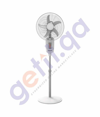 "ELEKTA 16"" RECHARGEABLE STAND FAN WITH REMOTE - ERF-S1645R"
