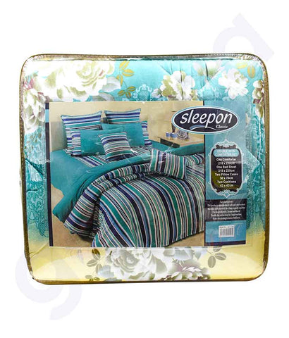 Buy Sleepon Comforter 6pc Set Assorted Online in Doha Qatar