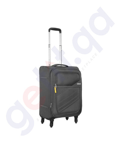 Buy American Tourister Stirling 56cm Dark Grey Doha Qatar