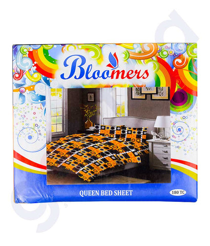 Buy Bloomers Queen Bed Sheet Price Online in Doha Qatar