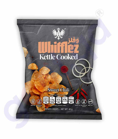 Buy Whifflez Kettle Chips Sweet Chili 40g Online Doha Qatar