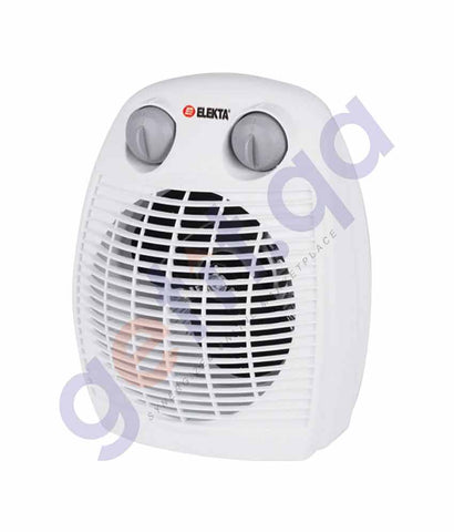 ELEKTA FAN HEATER WITH THERMOSTAT - EFH-2200
