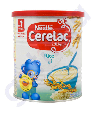 Buy Nestle Cerelac Rice 400gm Price Online in Doha Qatar
