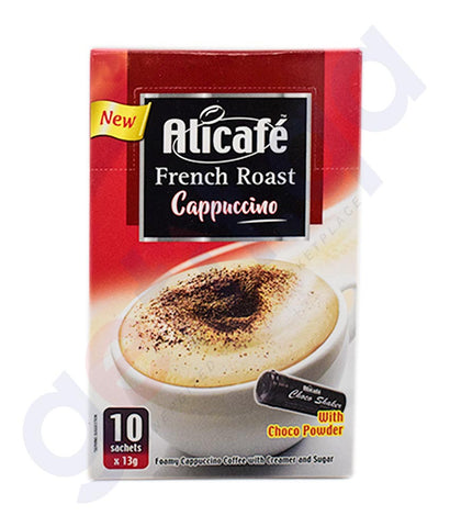 Buy Alicafe French Roast Cappuccino 10 Sachet in Doha Qatar