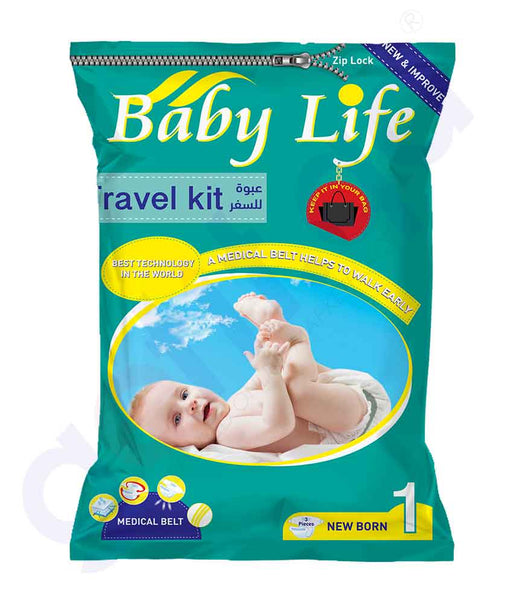 GETIT.QA | Buy Baby Life Travel Kit Stage1 Newborn 3Pcs in Doha Qatar