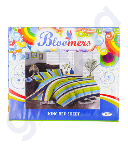 Buy Bloomers King Bed Sheet Price Online in Doha Qatar